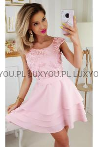 ed93021f00c267 Bicotone sukienka wieczorowa mini Alicja