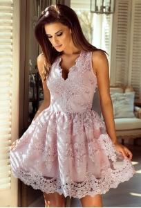 f2c8af4a5a EMO sukienka wieczorowa CARMEN pudrowy róż