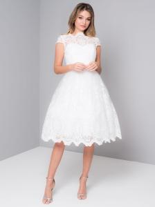 133a212f43 Chi Chi London AERIN sukienka wieczorowa midi rozkloszowana haftowana
