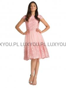 cbf59c584f Chi Chi London sukienka Samantha wieczorowa midi haftowana