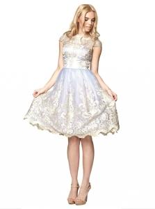 7ad2433523 Chi Chi London ELSA sukienka wieczorowa midi rozkloszowana haftowana