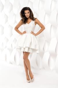 6dfc152da88f Bico sukienka mini koronkowa ecru