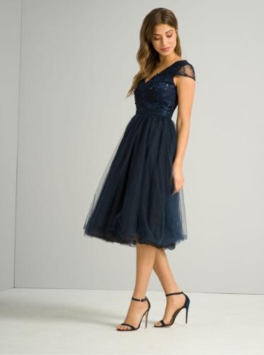 Chi Chi London Cosette Sukienka Wieczorowa Midi Luxyou Pl
