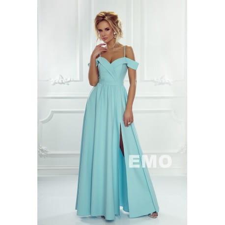 6fc2917752 EMO sukienka wieczorowa maxi ELIZABETH miętowa