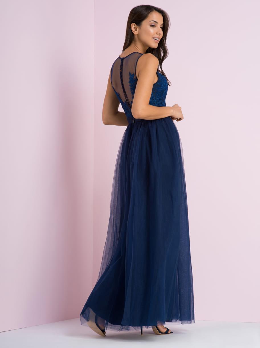 5fd756073 Chi Chi London IMOGEN suknia balowa maxi koronka | LUXYOU.PL
