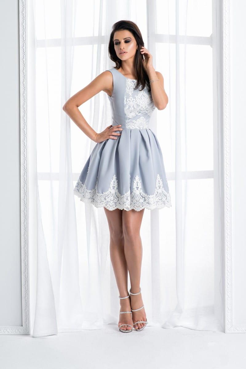 7e10315ef1 Bico sukienka mini koronkowa rozkloszowana  Bico sukienka mini koronkowa  rozkloszowana ...