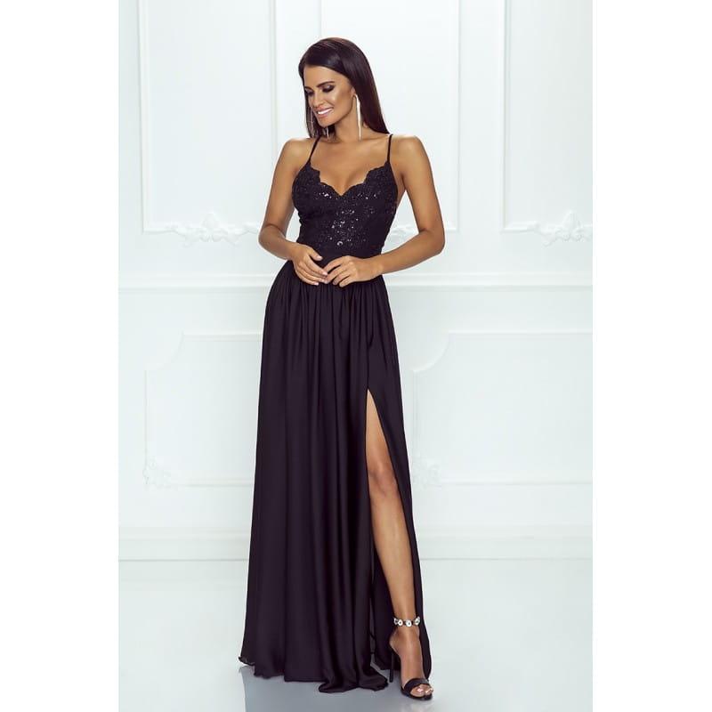 f997862404 EMO sukienka wieczorowa maxi BELLA czarna