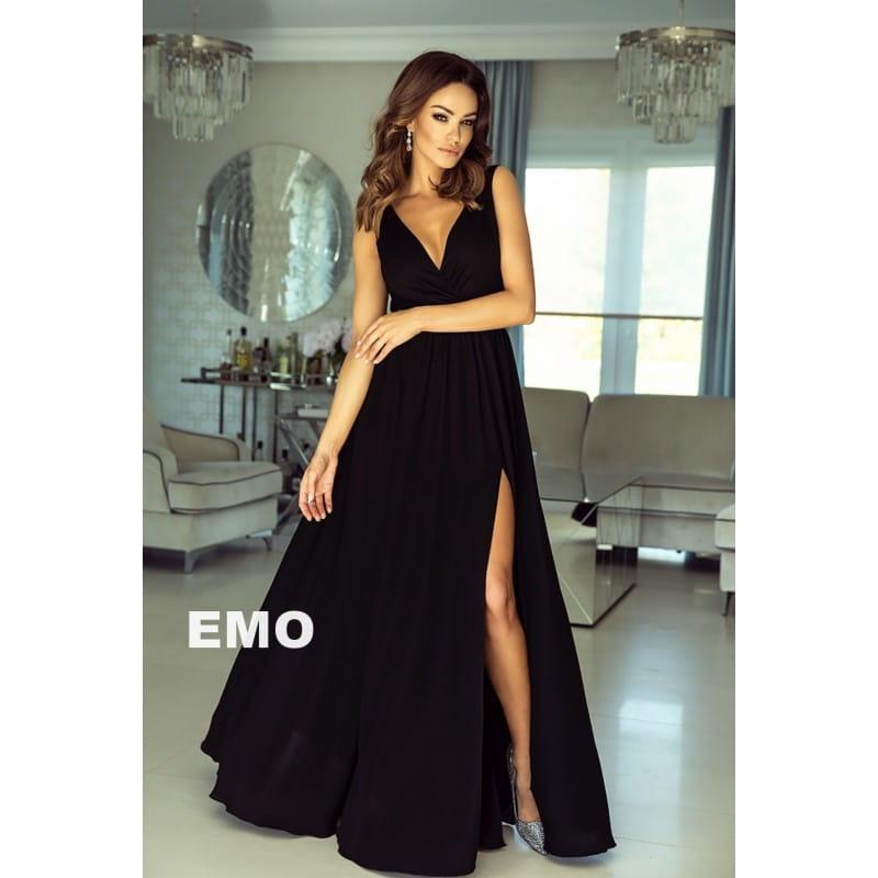 de614f3433 EMO sukienka wieczorowa maxi ANABELL czarna